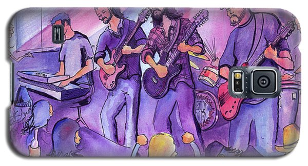 Galaxy S5 Case featuring the painting Thin Air At The Barkley Ballroom In Frisco, Colorado by David Sockrider
