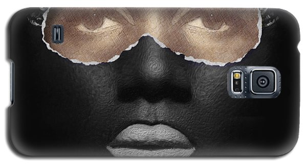 Galaxy S5 Case featuring the digital art Thin Skinned by ISAW Company