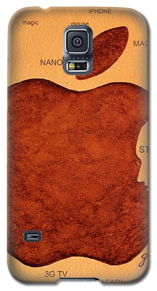 Think Different Steve Jobs 2 Galaxy S5 Case by Georgeta  Blanaru