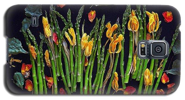 Think Spring Asparagus Galaxy S5 Case