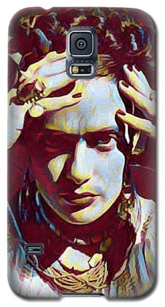 Thinking Frida Galaxy S5 Case by Gary Grayson