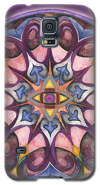 Third Eye Mandala Galaxy S5 Case