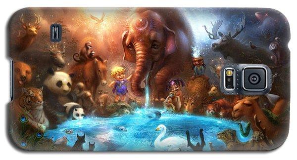 Fantasy Galaxy S5 Case - Thirst For Life by Alex Ruiz