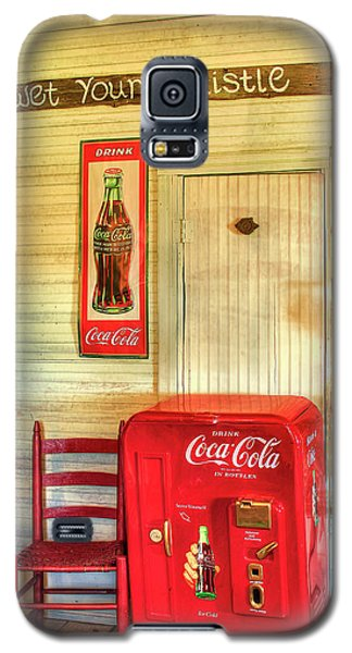 Thirst-quencher Old Coke Machine Galaxy S5 Case