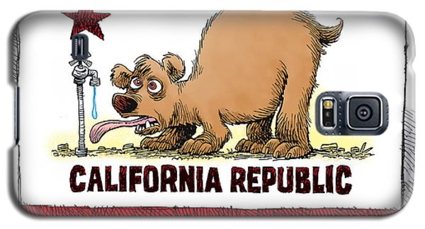 Thirsty California Flag Galaxy S5 Case