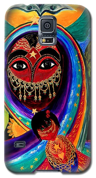 Mother And Child Galaxy S5 Case by Marina Petro