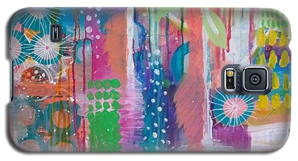 Colorful Galaxy S5 Case - This Is A Litttle Section Of A Large by Robin Mead