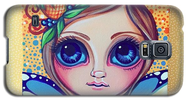 This Little Faery Cutie Today Flew Into Galaxy S5 Case by Jaz Higgins