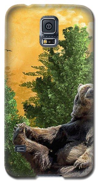 This Little Piggy Went To Market Galaxy S5 Case by Diane Schuster