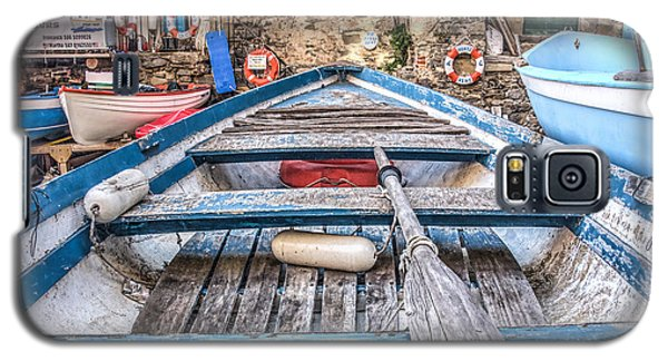 Galaxy S5 Case featuring the photograph This Old Boat by Brent Durken