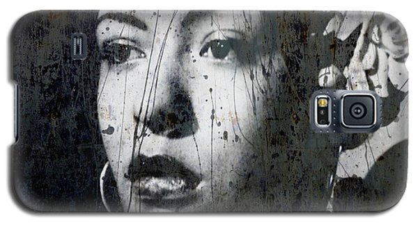 Galaxy S5 Case featuring the mixed media This Ole Devil Called Love  by Paul Lovering