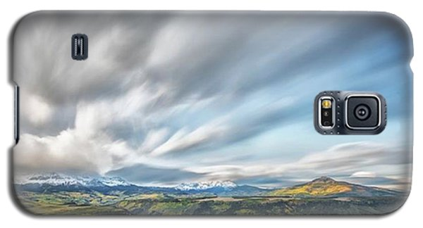 Galaxy S5 Case - This Photograph Was Taken At A Meadow by Jon Glaser