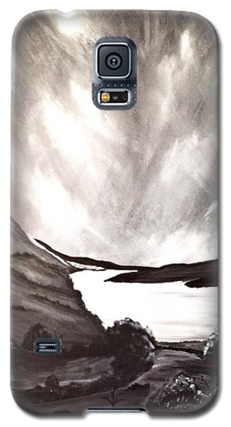 Galaxy S5 Case featuring the painting Thistle Do Nicely by Scott Wilmot