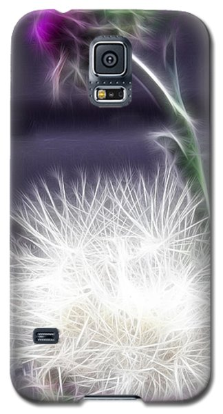 Galaxy S5 Case featuring the photograph Thistle by EricaMaxine  Price