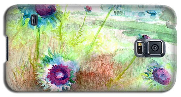 Thistles #1 Galaxy S5 Case by Andrew Gillette