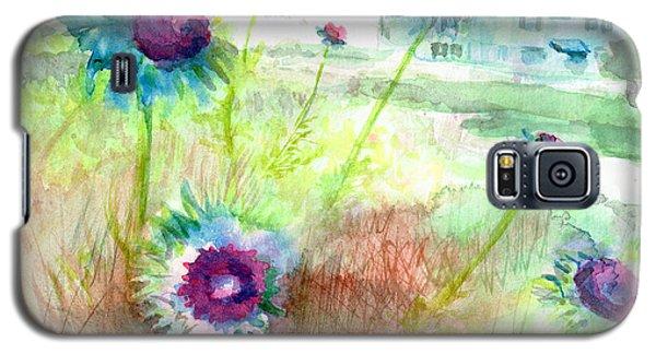 Thistles #1 Galaxy S5 Case