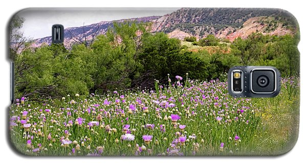 Thistles In The Canyon Galaxy S5 Case
