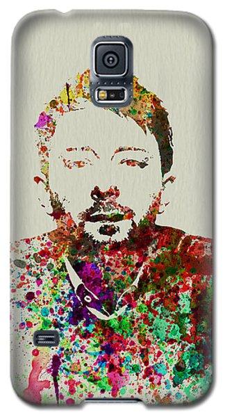 Celebrities Galaxy S5 Case - Thom Yorke by Naxart Studio