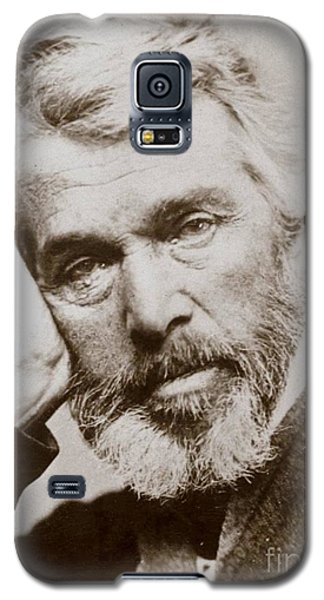 Galaxy S5 Case featuring the photograph Thomas Carlyle by Pg Reproductions