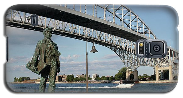 Thomas Edison And Blue Water Bridge 1 Galaxy S5 Case