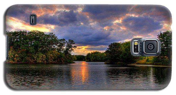 Thomas Lake Park In Eagan On A Glorious Summer Evening Galaxy S5 Case