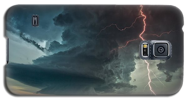 Thor Speaks Galaxy S5 Case by James Menzies