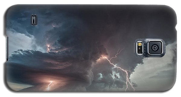 Galaxy S5 Case featuring the photograph Thor Strikes Again by James Menzies