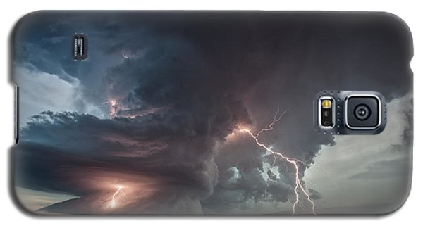 Thor Strikes Again Galaxy S5 Case by James Menzies