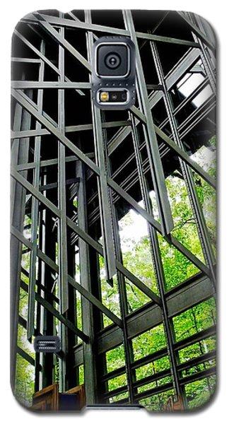 Thorncrown Chapel Arkansas Sanctuary Architecture Galaxy S5 Case