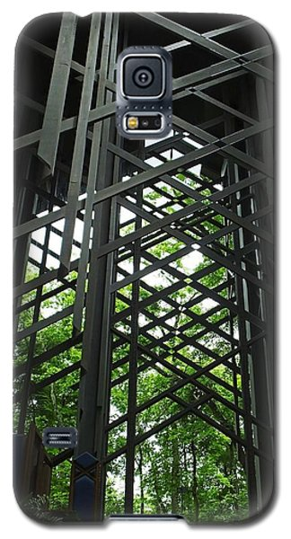 Thorncrown Chapel Sanctuary In The Ozark Mountains Galaxy S5 Case by Lizi Beard-Ward