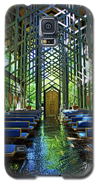 Thorncrown Chapel Serenity Galaxy S5 Case