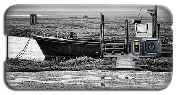 Transportation Galaxy S5 Case - Thornham Harbour, North Norfolk by John Edwards