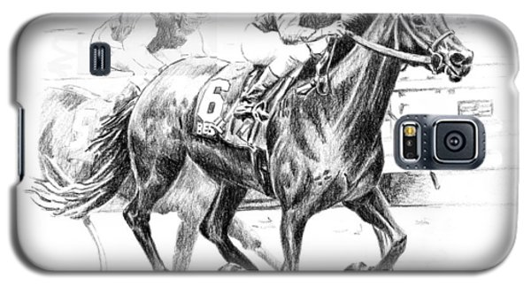 Thoroughbred Best Pal Galaxy S5 Case by Arline Wagner