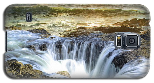 Thor's Well - Oregon Coast Galaxy S5 Case
