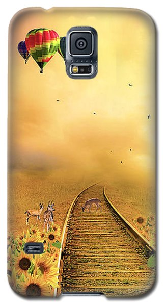 Galaxy S5 Case featuring the photograph Those Infernal Flying Machines by Diane Schuster