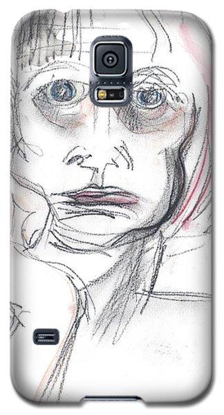 Thoughtful - A Selfie Galaxy S5 Case