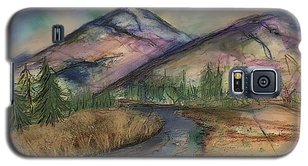 Thoughts Of Glacier Galaxy S5 Case by Annette Berglund