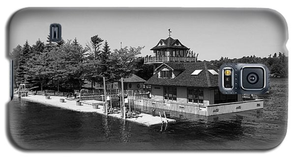 Thousand Islands In Black And White Galaxy S5 Case