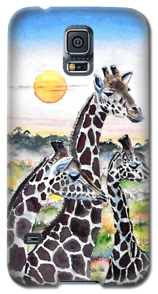 Three Giraffes    Sold Galaxy S5 Case