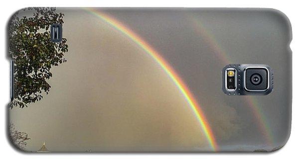 Thread City Double Rainbow  Galaxy S5 Case