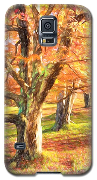 Galaxy S5 Case featuring the painting Three Amigos IIi by Dan Carmichael