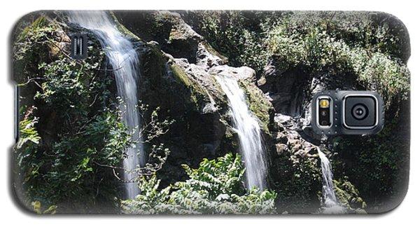 Upper Waikani Falls Galaxy S5 Case