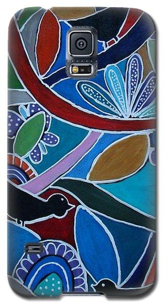 Three Black Birds Galaxy S5 Case