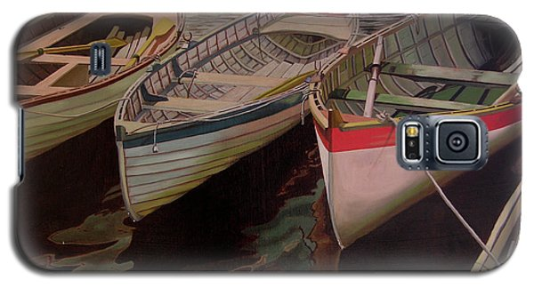 Three Boats Galaxy S5 Case