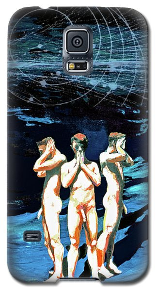 Three Boys, Hear No Evil, Speak No Evil, See No Evil Galaxy S5 Case