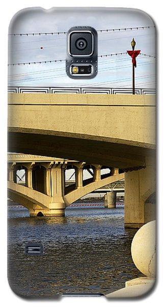 Galaxy S5 Case featuring the photograph Three Bridges by Phyllis Denton