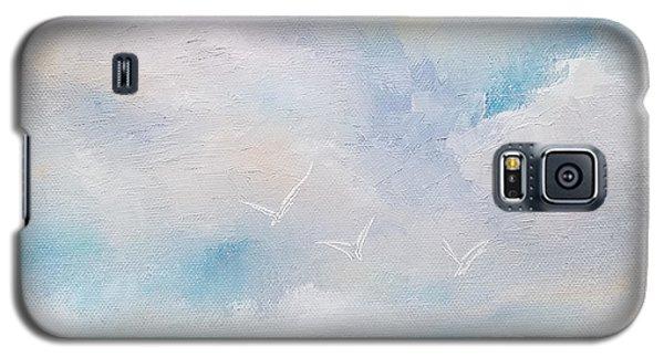 Three By The Sea Galaxy S5 Case
