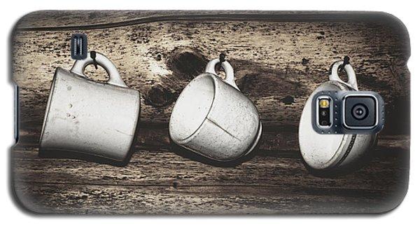 Three Coffee Cups Galaxy S5 Case