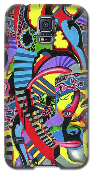 Three Disguises Of An Abstract Thought Galaxy S5 Case