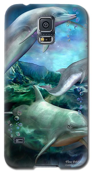 Three Dolphins Galaxy S5 Case
